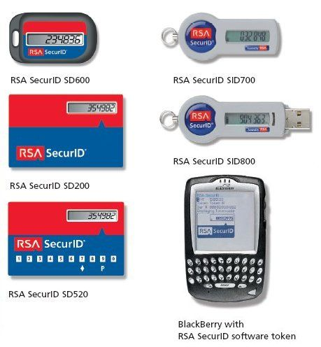 RSA Tokens
